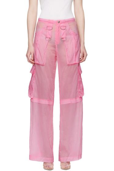 MISBHV - ピンク バービー カーゴ パンツ
