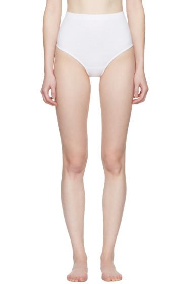 Marieyat - White Bex Thong