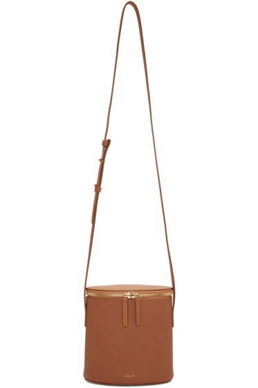 Cuero&Mor - Tan Mini Bucket Bag