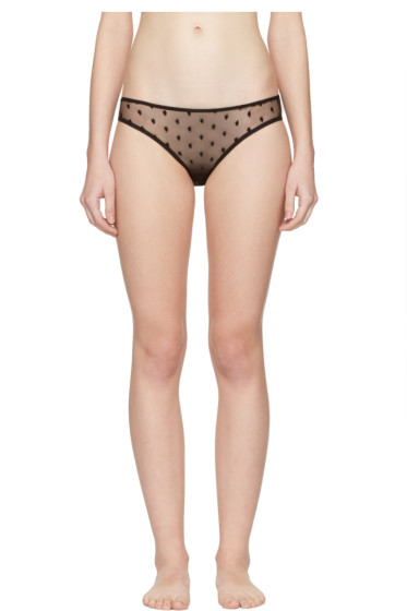 Le Petit Trou - Black Vivienne Bikini Briefs