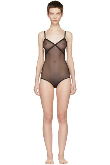 Le Petit Trou - Black Fabienne Bodysuit
