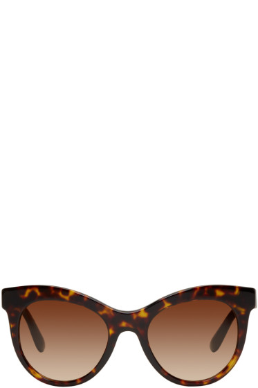 Dolce & Gabbana - Tortoiseshell Cat-Eye Sunglasses