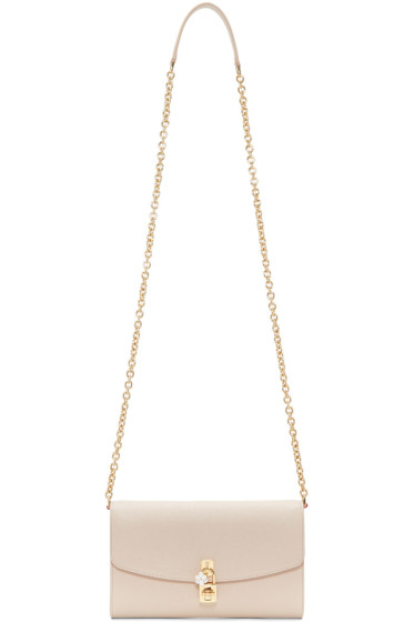 Dolce & Gabbana - Beige Pochette Clutch