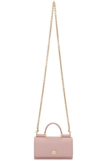 Dolce & Gabbana - Pink Mini Von Bag