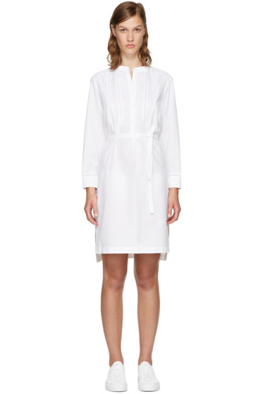 Rag & Bone - White Walta Shirt Dress