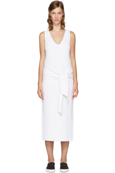 Rag & Bone - White Michelle Sweater Dress