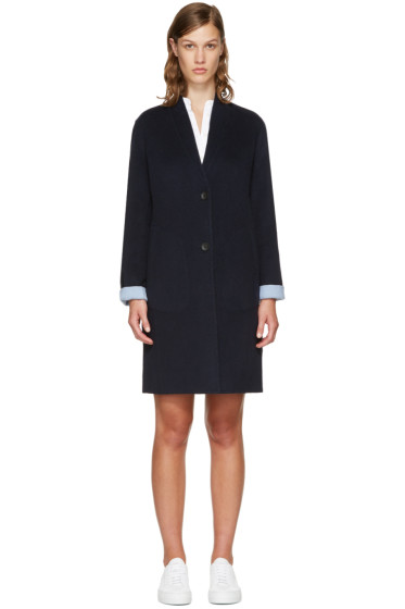 Rag & Bone - Reversible Navy Melbourne Coat