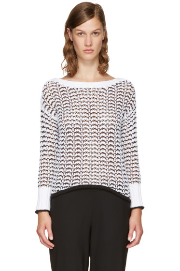 Rag & Bone - White Daniela Sweater