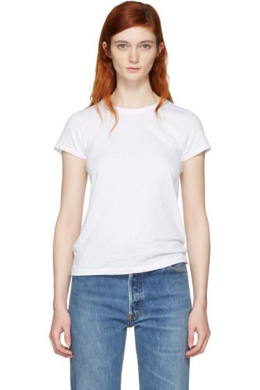 Rag & Bone - White 'The Tee' T-Shirt