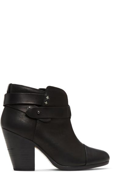 Rag & Bone - Black Harrow Boots