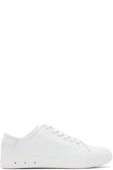Rag & Bone - White Standard Issue Sneakers
