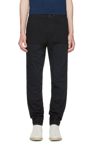 Rag & Bone - Black Engineered Workwear Chinos