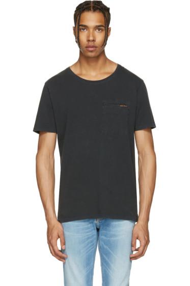 Nudie Jeans - Black Ove T-Shirt