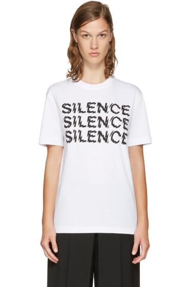 McQ Alexander McQueen - White 'Silence' T-Shirt