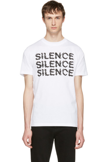 McQ Alexander McQueen - ホワイト Silence T シャツ