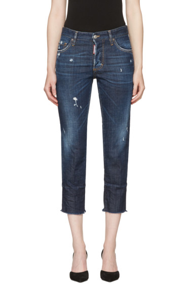 Dsquared2 - Blue Boyfriend Jeans