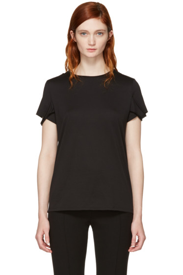 Helmut Lang - Black Strappy T-Shirt