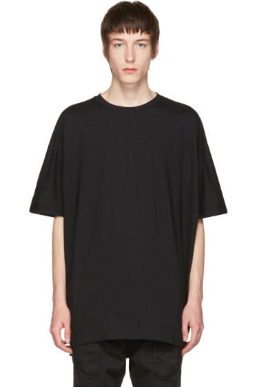 Helmut Lang - Black Uni Sleeve T-Shirt