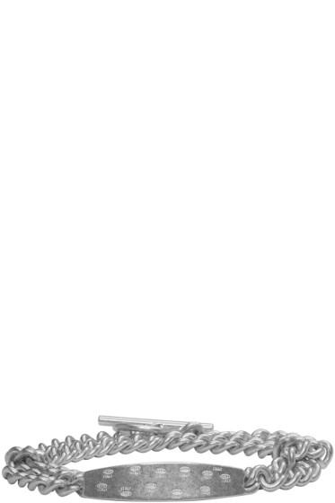 Maison Margiela - Silver Chain ID Bracelet