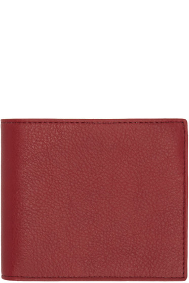 Maison Margiela - Red Bifold Wallet