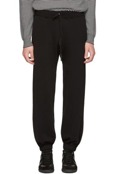 Maison Margiela - Black Oversized Lounge Pants