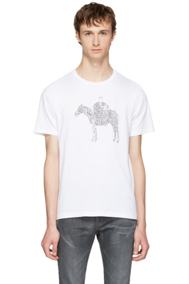 Maison Margiela - White Pony Kid T-Shirt
