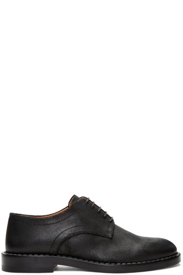 Maison Margiela - Black Leather Derbys