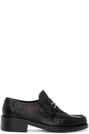Maison Margiela - Black Chain Loafers