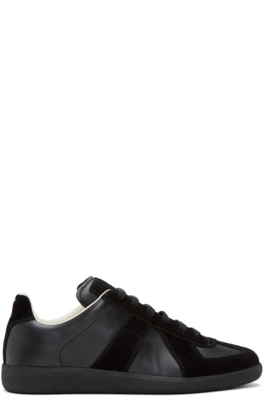 Maison Margiela - Black Replica Sneakers