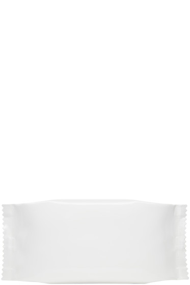 MM6 Maison Margiela - White Candy Wrapper Clutch