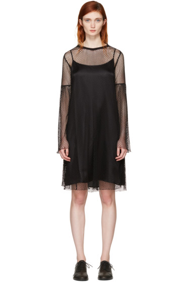 MM6 Maison Margiela - Black Mesh Dress