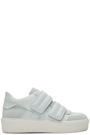 MM6 Maison Margiela - White Platform Sneakers