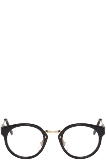 Super - Black & Gold Panama Glasses
