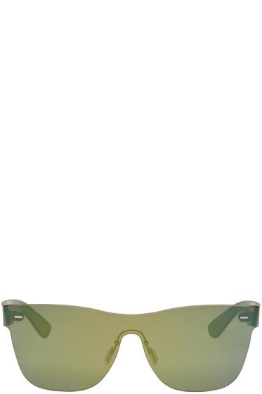 Super - グリーン テュトレンテ サングラス