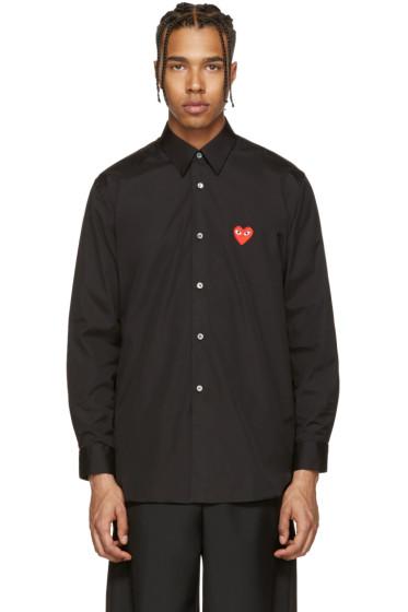 Comme des Garçons Play - Black Heart Patch Shirt
