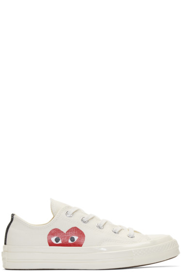 Comme des Garçons Play - Off-White Converse Edition Chuck Taylor All-Star '70 Sneakers