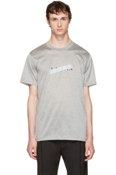 Lanvin - Grey Logo T-Shirt
