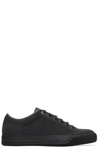 Lanvin - Black Nubuck Sneakers