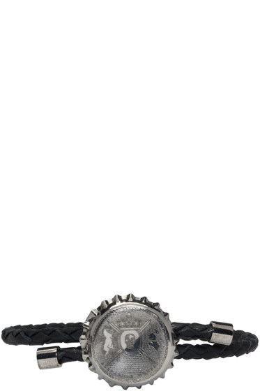 Alexander McQueen - Black Cup Friendship Bracelet