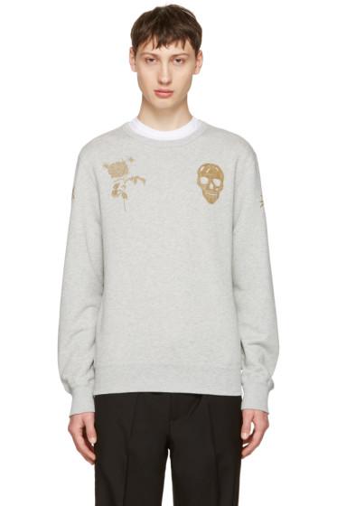 Alexander McQueen - Grey Bullion Sweatshirt
