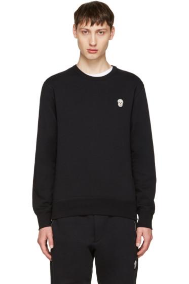 Alexander McQueen - Black Bullion Skull Patch Sweatshirt