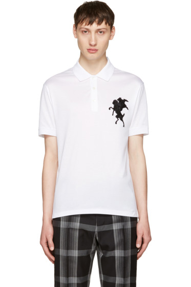 Alexander McQueen - White Classic Piqué Polo