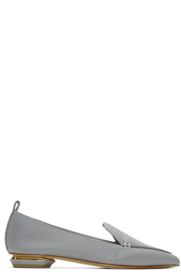 Nicholas Kirkwood - Grey Beya Loafers