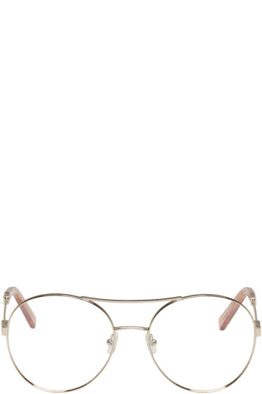 Chloé - Gold Jacky Aviator Glasses