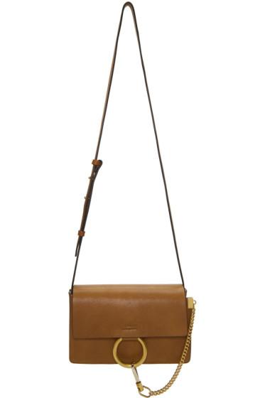 Chloé - Tan Small Faye Bag