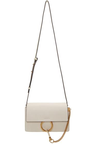 Chloé - Off-White Small Faye Bag