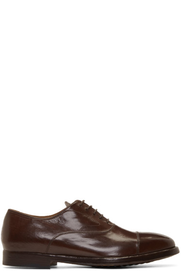 Officine Creative - Brown Herve Oxfords