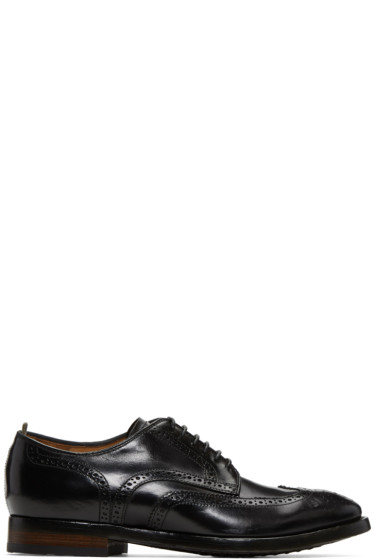 Officine Creative - Black Princeton 33 Brogues
