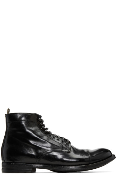 Officine Creative - Black Anatonia 16 Boots
