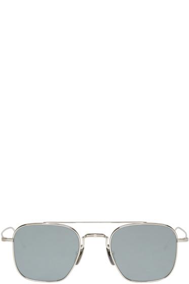 Thom Browne - Silver TB 907 Sunglasses